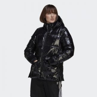 Glossy A-Shape Down Puffer Jacket tarjous