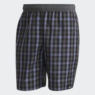 Classic-Length Check Swim Shorts tarjous