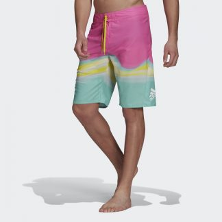 Knee-Length Graphic Board Shorts tarjous